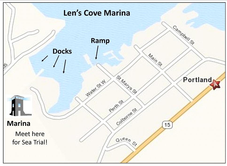 len's cove marina location