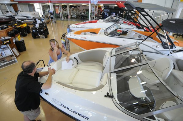 boat showroom