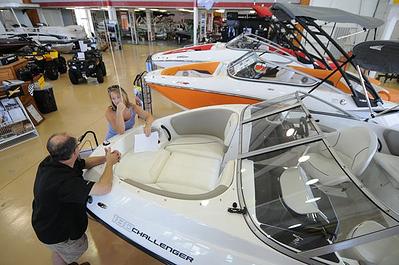boat showroom