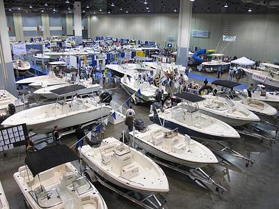 Boat Show Floor