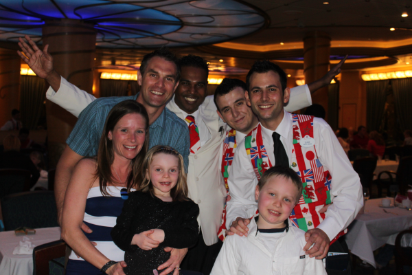 horsfall family disney cruise