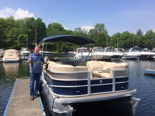 new or used boat lake test