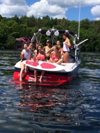 Fun summers on Big Rideau Lake